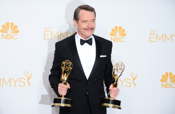 Bryan Cranston at the 2014 Emmys