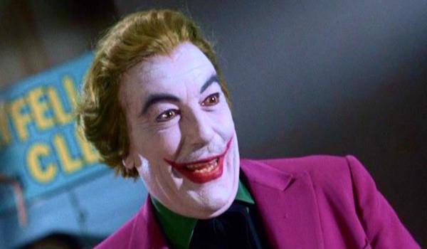 Cesar Romero as The Joker in the 1966 Batman movie