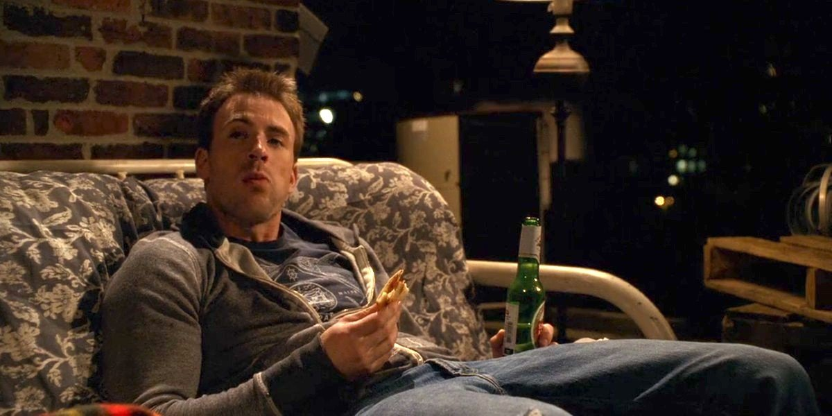 Chris evans in What's Your Number