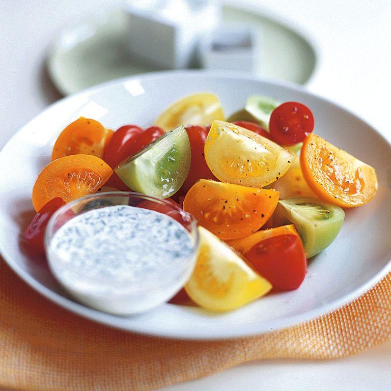 Fresh Tomato Salad with Creamy Tarragon Dressing Recipe-recipe ideas-new recipes-woman and home