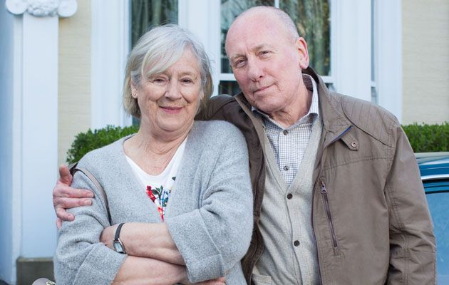 Ted & Joyce, maggie steed