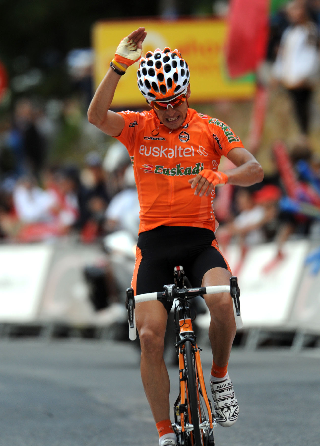 Igor Anton, Vuelta a Espana 2010, stage 11