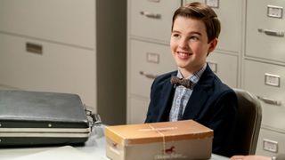 'Young Sheldon' stars Iain Armitage.