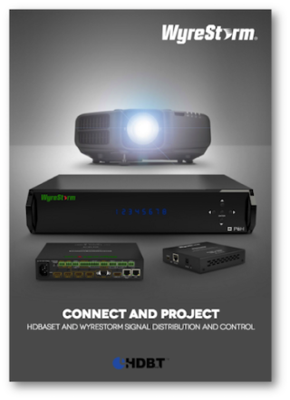 WyreStorm's 'Connect & Project' Aims Spotlight on Direct HDBaseT Connectivity