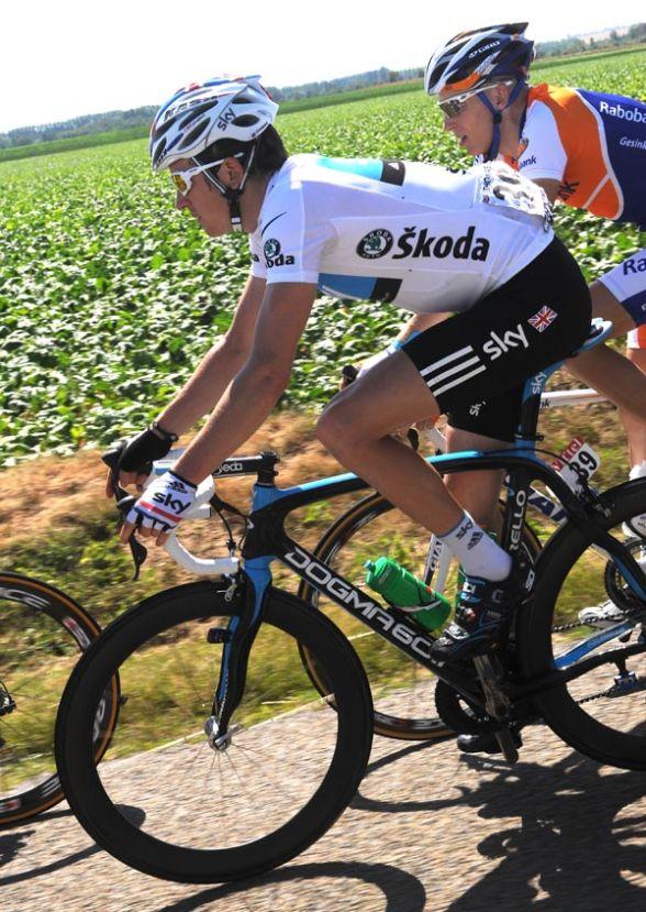 Geraint Thomas, Tour de France 2010 stage 4