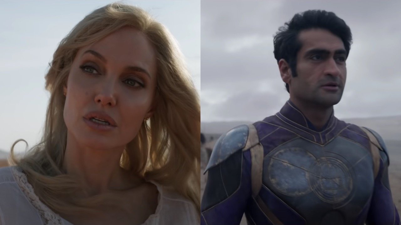 What It's Like To Be On Set With An Icon Like Angelina Jolie, According To Eternals' Kumail Nanjiani