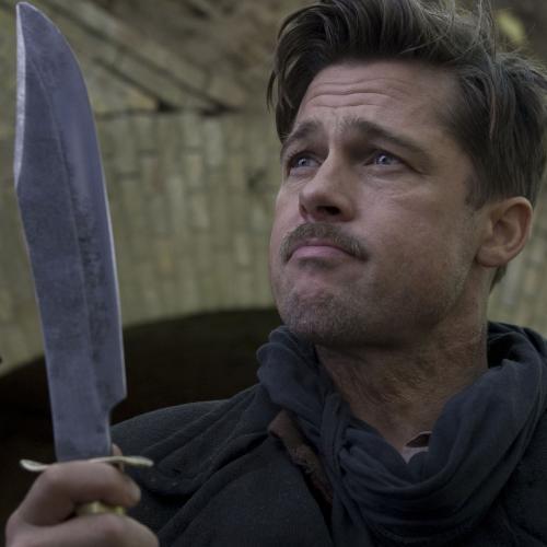 Inglourious Basterds - Brad Pitt plays Lt Aldo Raine in Quentin Tarantino's audacious World War Two action movie