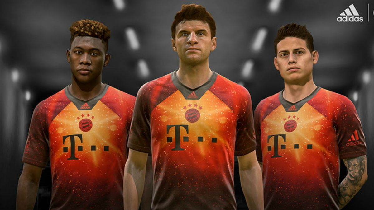 size 40 12c9b 106ff FIFA 19 gets exclusive 4th kits for Bayern, Real Madrid ...