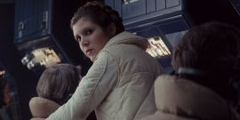 Star Wars: Empire Strikes Back Set Footage Reveals Delightful Clips Of Carrie Fisher