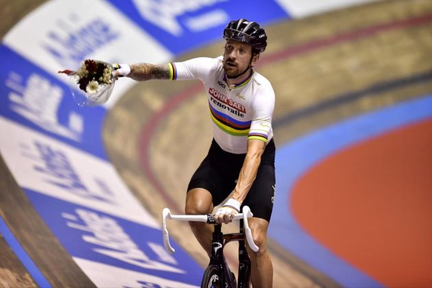 Bradley Wiggins at the 2016 Ghent Six Day