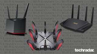 A selection of some of the best Wi-Fi 6 routers