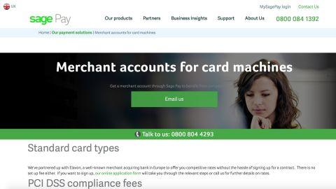 Sage Pay credit card processing