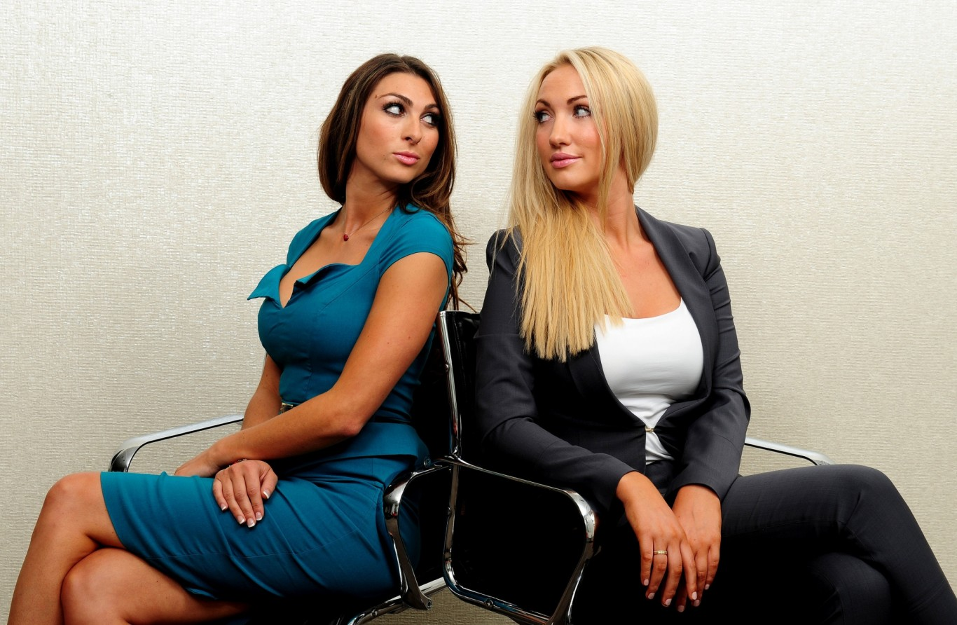 Luisa Zissman and Leah Totton faced each other in The Apprentice final.