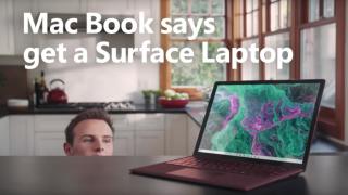Mac Book pro ad still