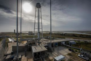 Mid-Atlantic Regional Spaceport's Commercial Launch Pad-0A Repaired