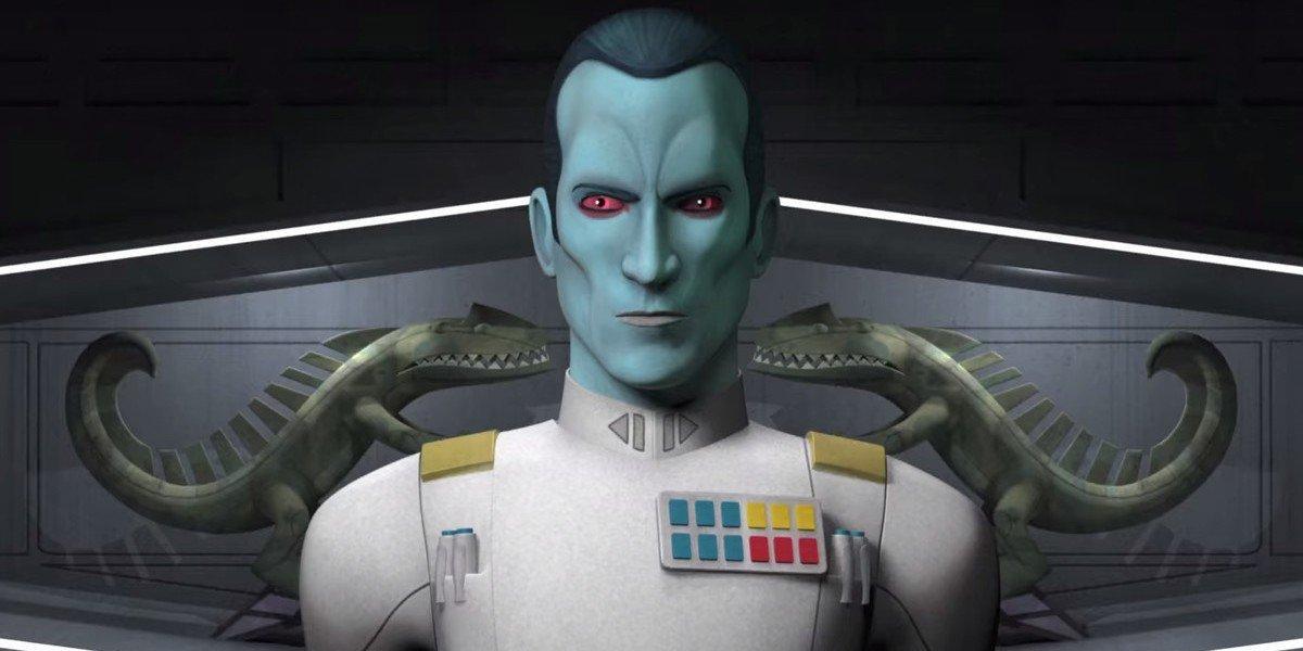 Grand Admiral Thrawn on Star Wars Rebels