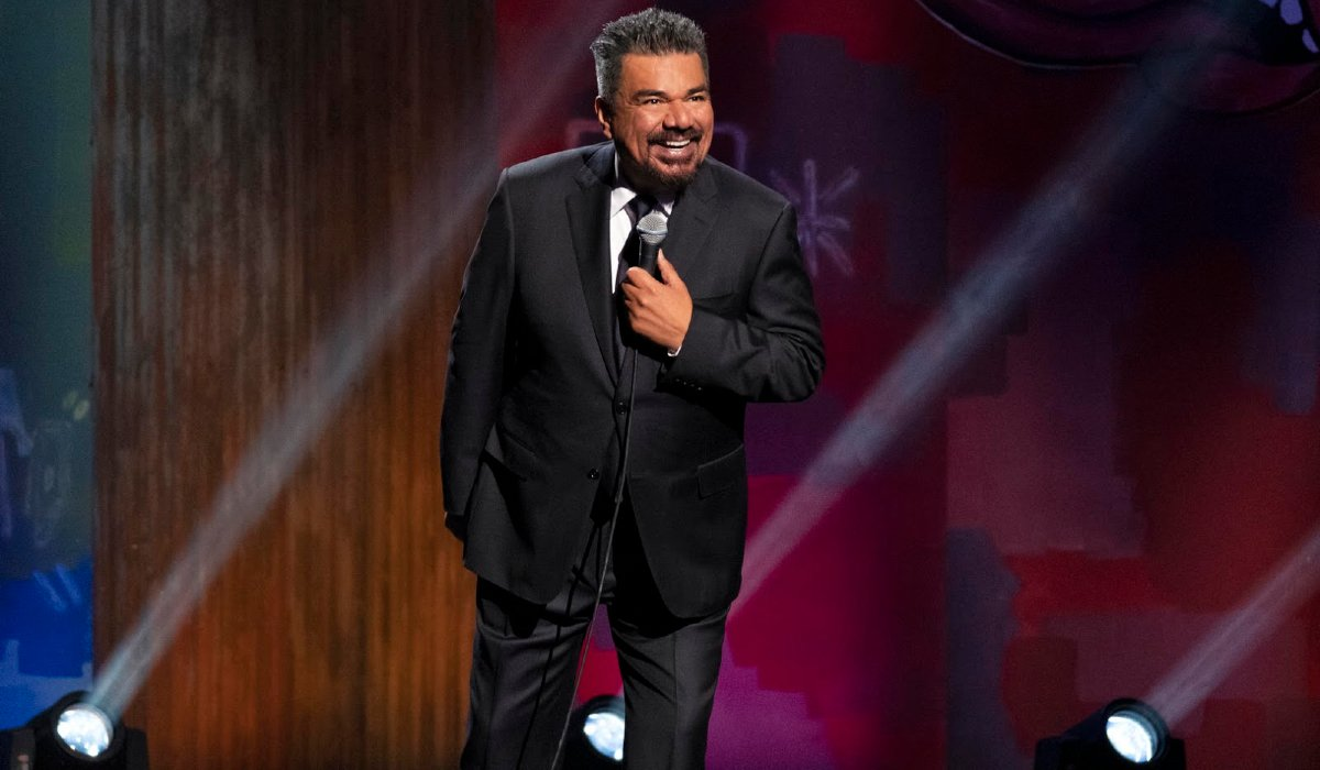 George Lopez: We'll Do It For Half Lopez on stage