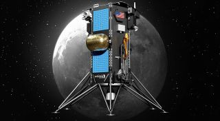 NASA has picked Intuitive Machines to deliver the PRIME-1 ice-mining experiment to the moon's south pole in December 2022 on the company's private Nova-C lander.