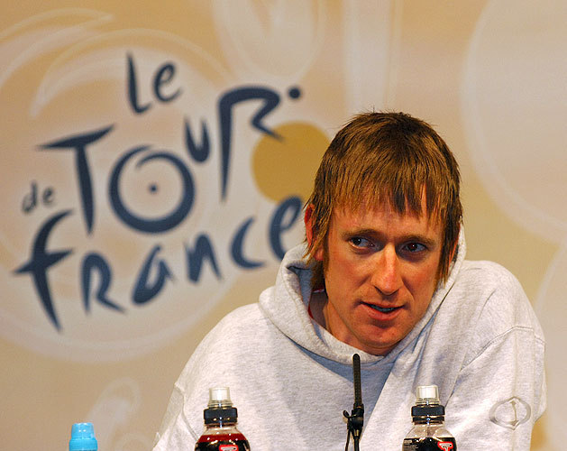 Bradley Wiggins Tour 07 press