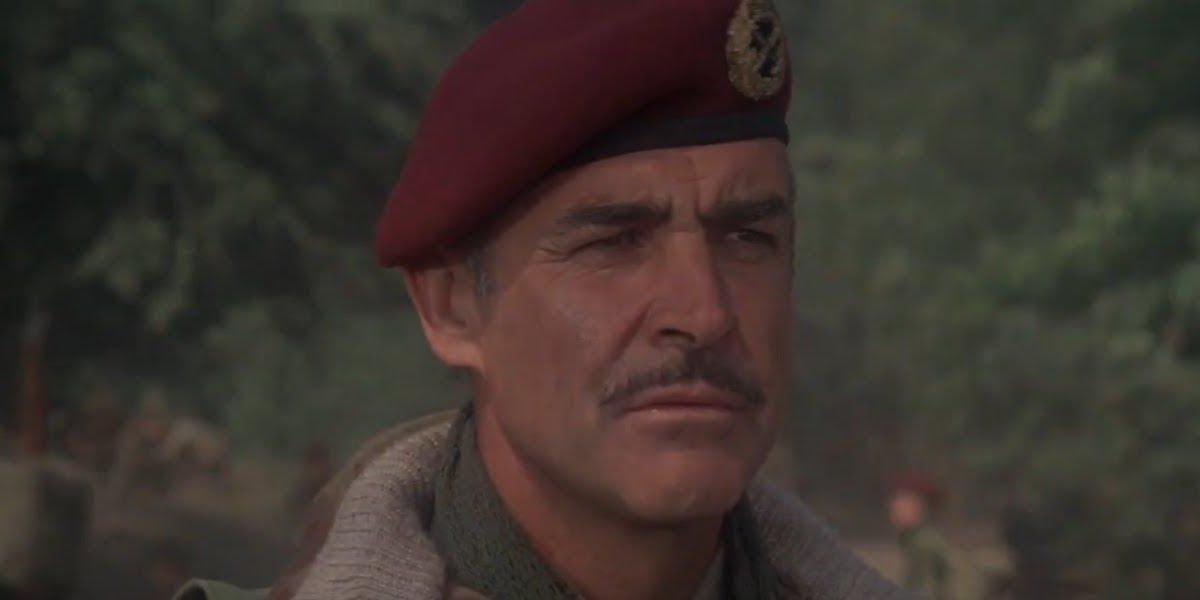 Sean Connery in A Bridge Too Far