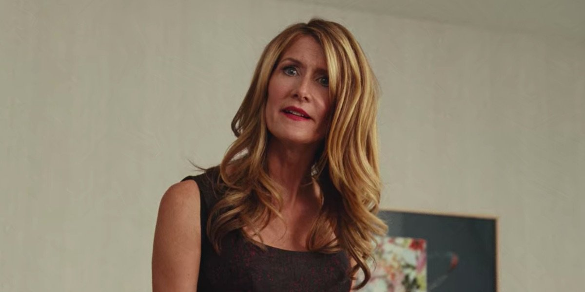 Laura Dern during her Marriage Story monologue