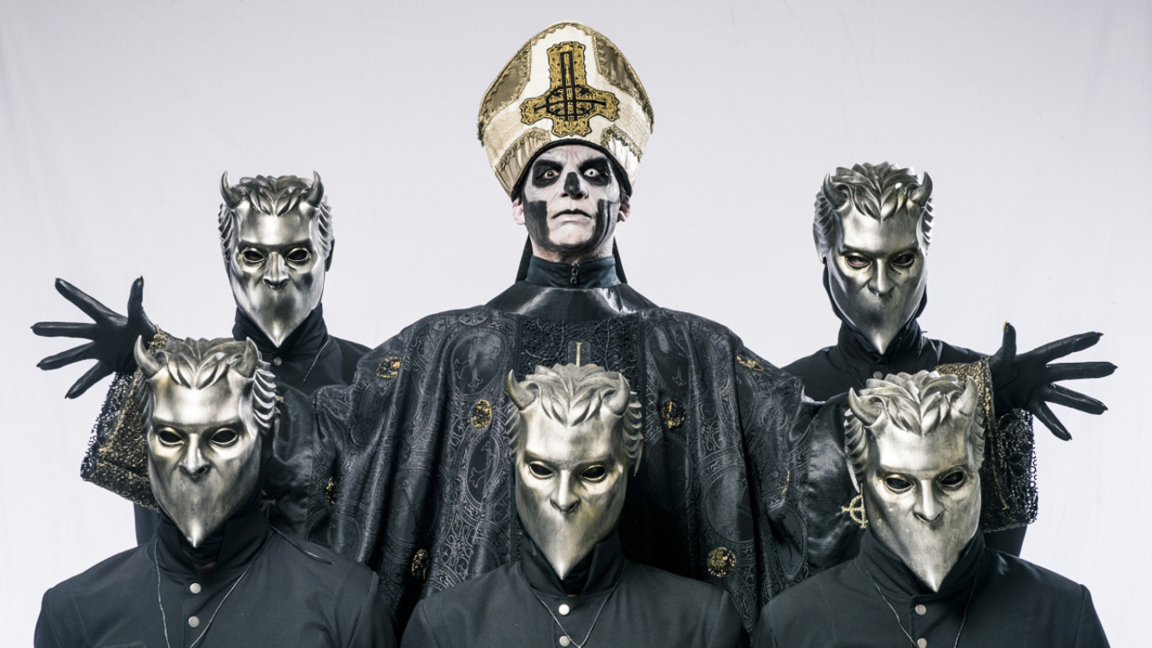 Ghost Are Mysterious Backstage Too