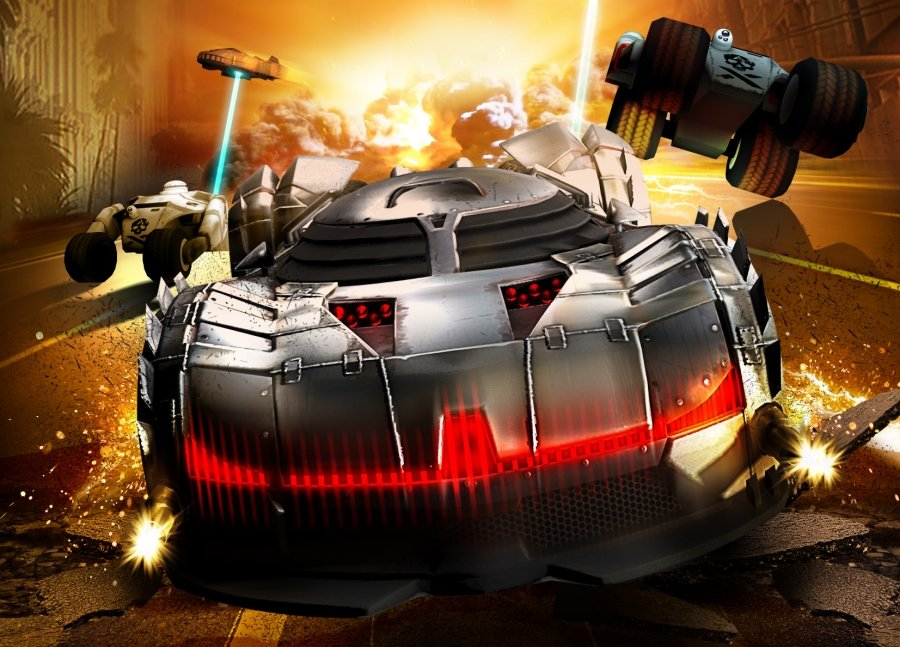 Fire And Forget Vehicle Looks Like Batman's Tumbler In New Screenshots #26484