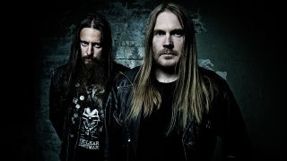 A press shot of Darkthrone taken in 2016