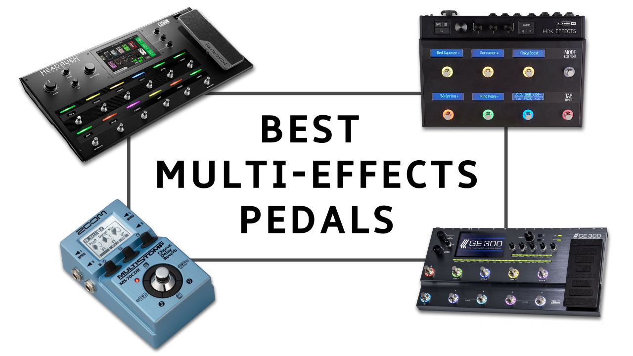 The 8 best multi-effects pedals for guitarists 2019: meet