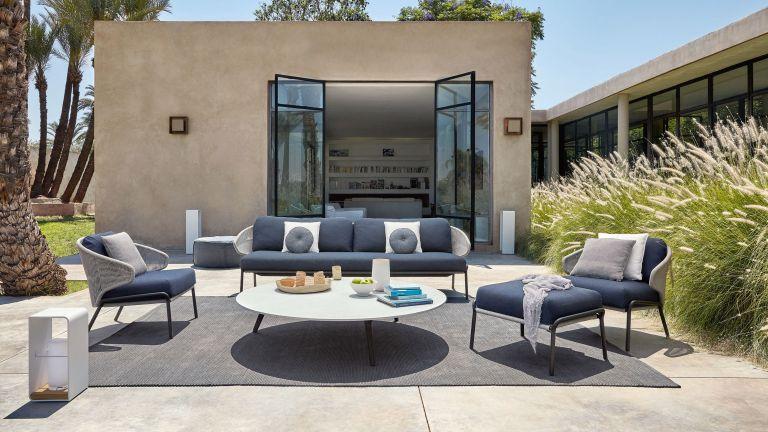 garden furniture ideas: outdoor sofa from Go Modern
