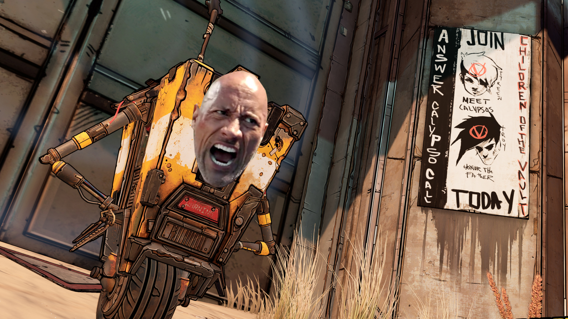 Borderlands 3's creative director wants The Rock to play Claptrap in the movie   PC Gamer