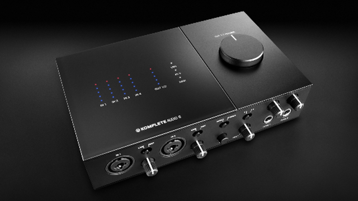 With a glass and aluminium case, NI's Komplete Audio 6 interface looks as good as we hope it sounds