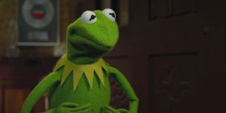 Kermit the Frog frowning