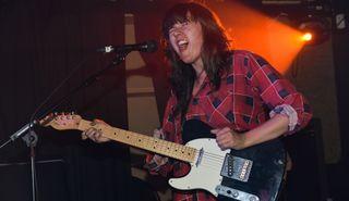 Courtney Barnett performs live in London on February 12, 2014