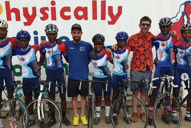 Victor Campaenaerts wins race in Namibia and donates prize money to charity - Cycling Weekly