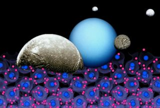 In a new study, researchers have modeled the interiors of the ice giants Uranus and Neptune.
