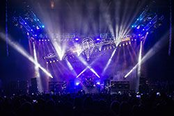 GLS Lighting for Motörhead's Last Tour