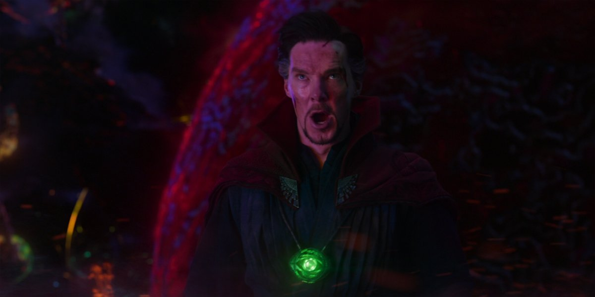 Doctor Strange faces off against Dormammu in Doctor STrange