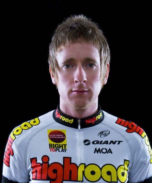 Bradley Wiggins Team High Road 2008