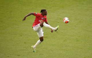 Aaron Wan-Bissaka, England and Manchester United