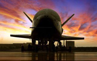 Boeing's X-37B space plane.