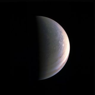 Juno View of Jupiter's North Pole