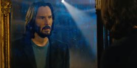 The Matrix Resurrections Trailer Had Action, But The Internet Is Obsessed With Keanu Reeves In The Bath
