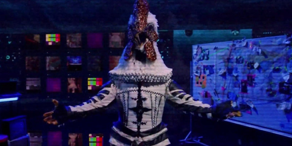 Cluedle-doo raised arms The Masked Singer on Fox