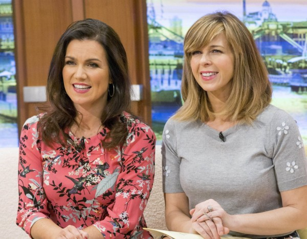 Good Morning Britain Susanna Reid and Kate Garraway