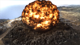Call of Duty: Warzone Verdansk map nuked