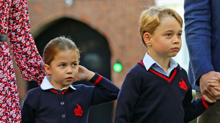 Prince George and Princess Charlotte's inventive school lunch menu have been revealed