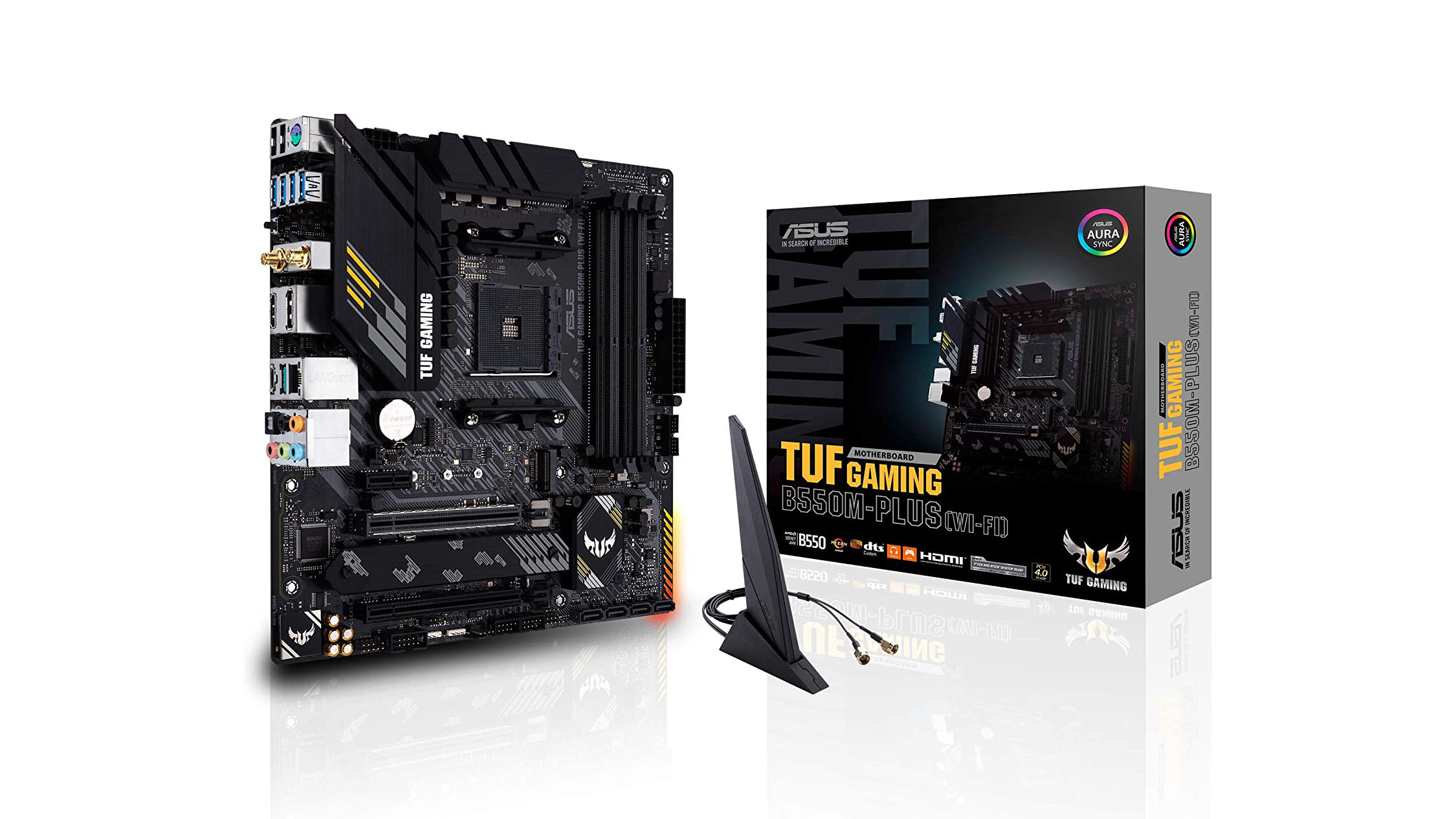 Best motherboards: Asus TUF Gaming B550M-PLUS