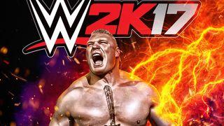 WWE 2K17 cover star Brock Lesnar
