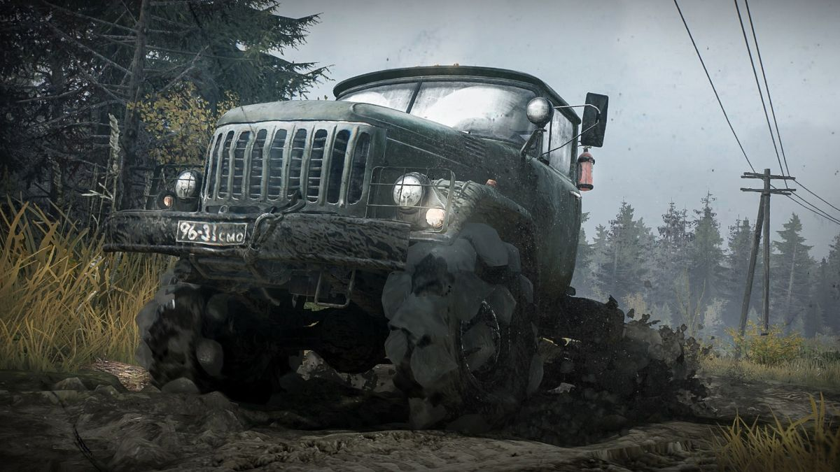 Spintires: Mudrunner, the ultra-niche off-road driving sim, is getting a sequel